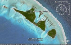 illot Aumon, a les Illes Marshall